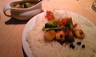 チャオカリーの春野菜カレー